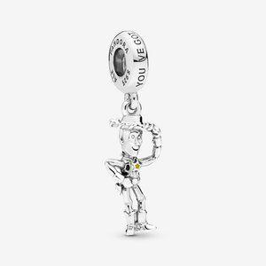 Pandora Disney Pixar Toy Story Woody Dangle Charm